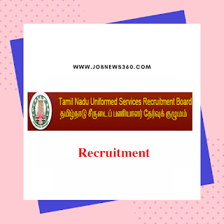 TNUSRB Recruitment 2019 for Sub Inspector of Police Posts (969 Vacancies)
