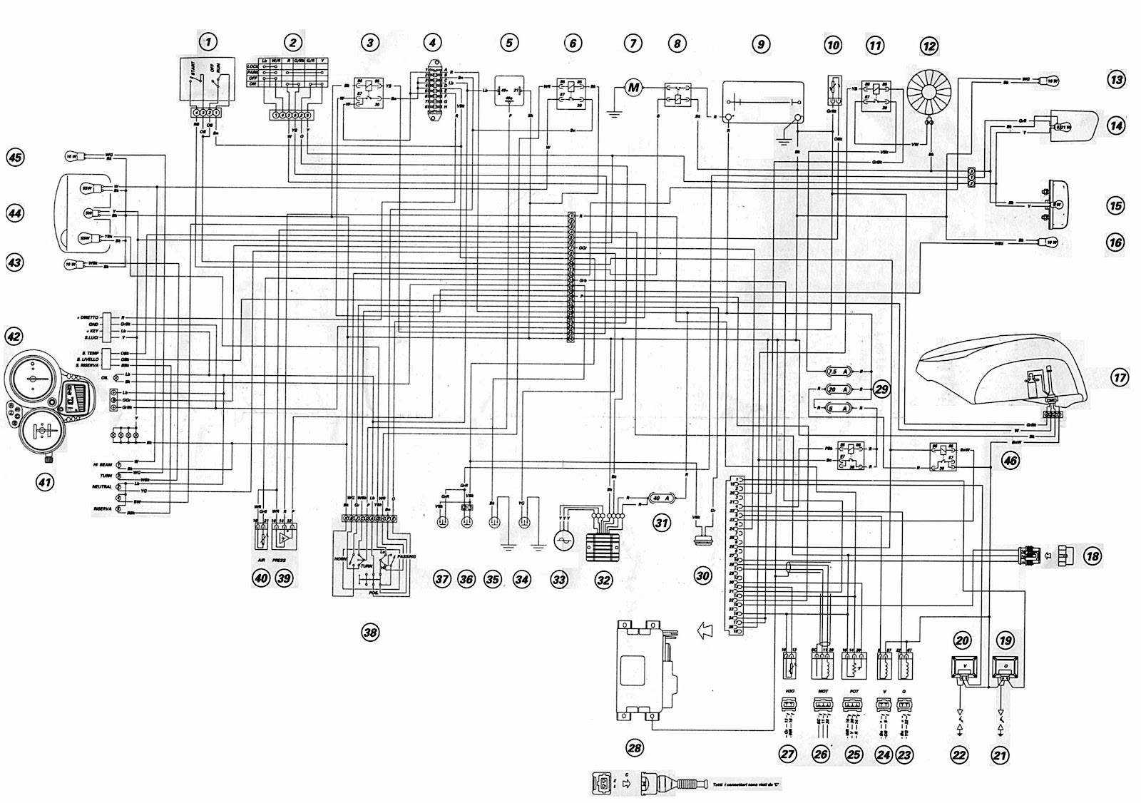 Ducati ST4 2002 Motorcycle Wiring Diagram | All about