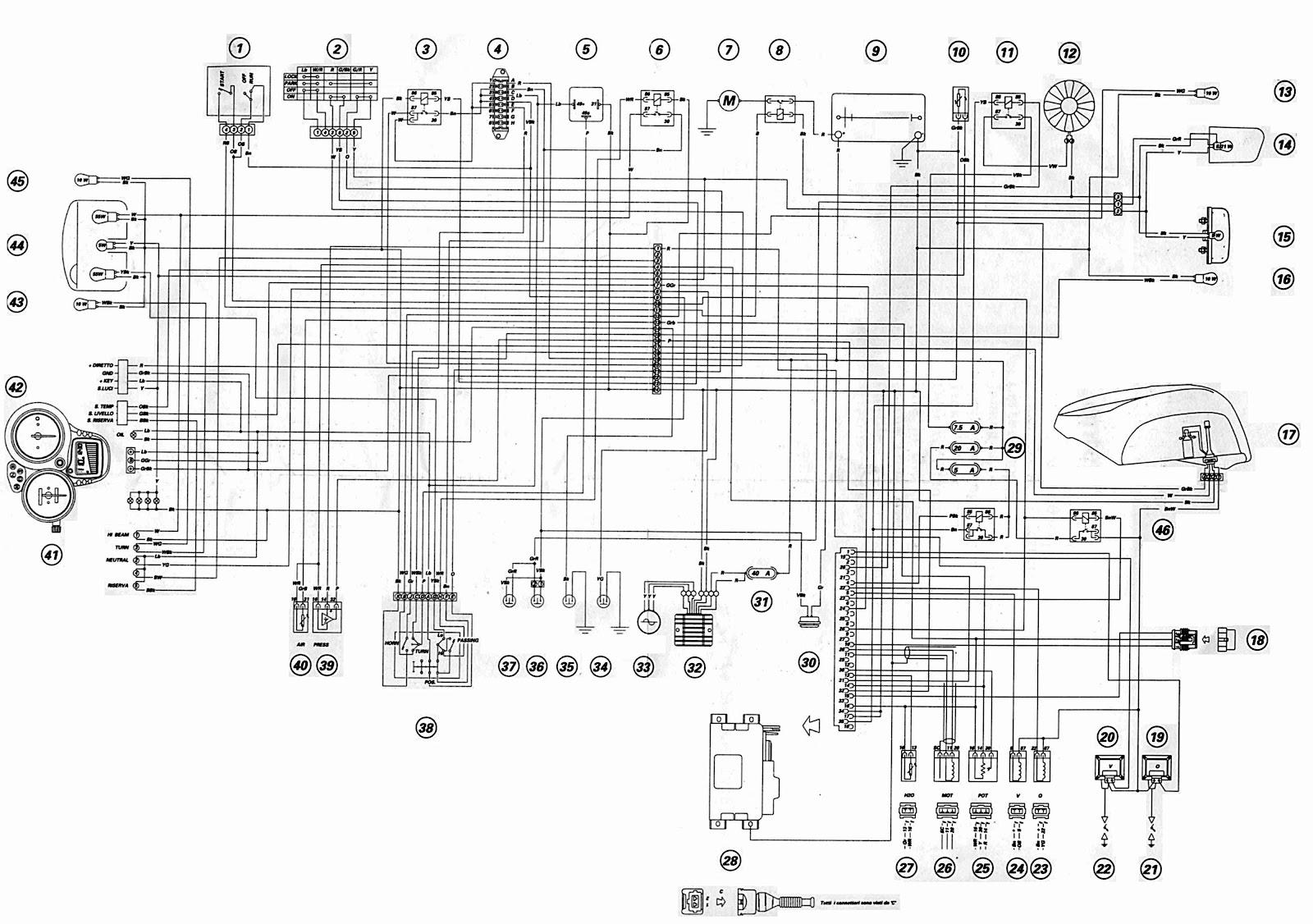 ducati st4 2002 motorcycle wiring diagram ducati st4 suzuki quadrunner 160  [ 1600 x 1126 Pixel ]
