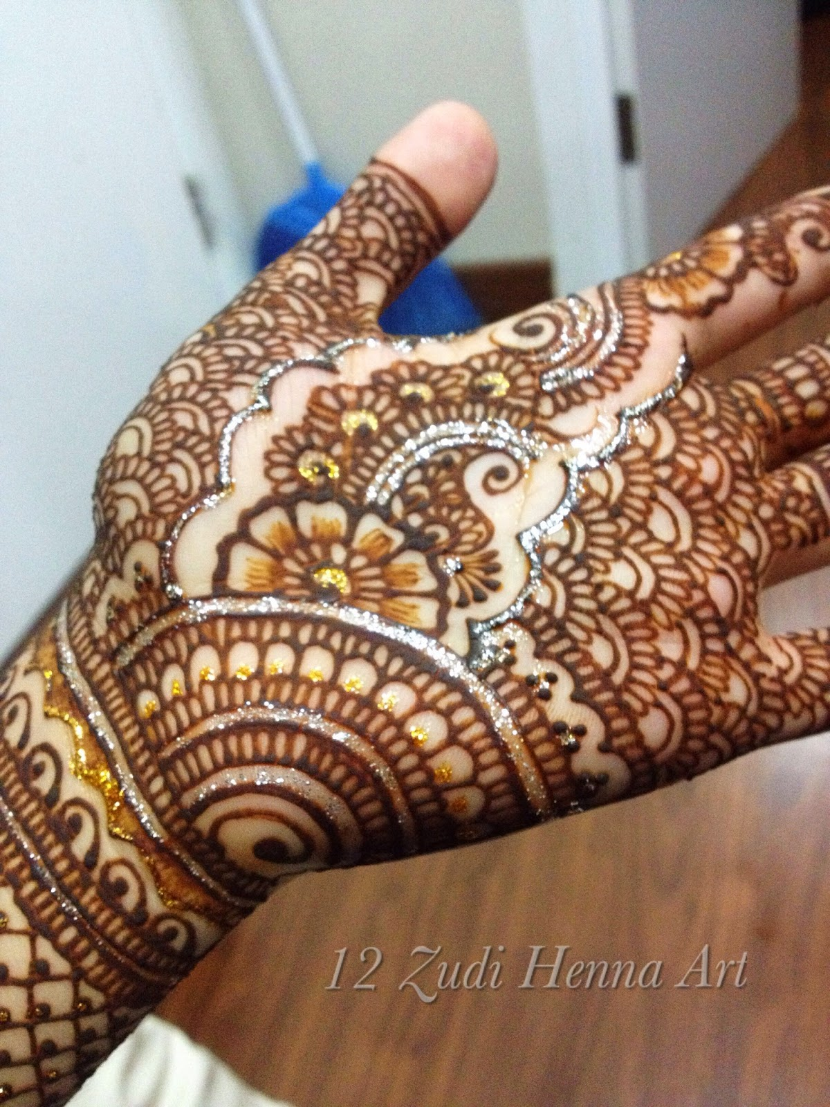Gambar Lengkap Henna Tangan India Tahun Ini Teknik Menggambar