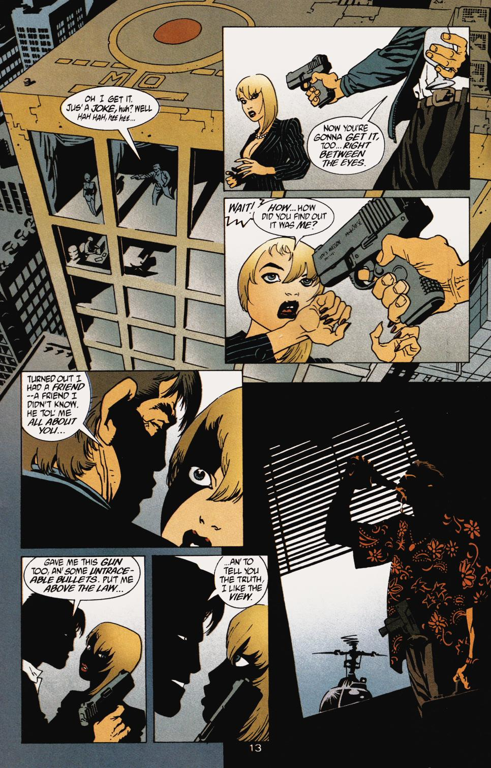 Read online 100 Bullets comic -  Issue #5 - 15