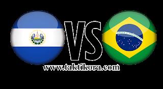 البرازيل والسلفادور بث مباشر اليوم