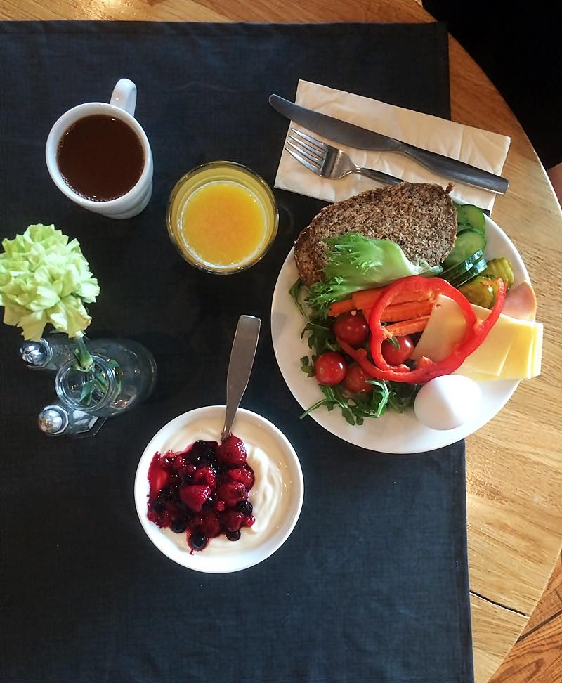 scandic aamupala