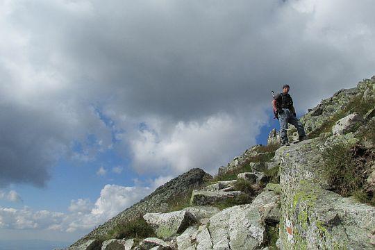 Podejście na Zadni Granat.