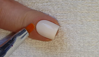 make nail polish out of acrylic paint hession hairdressing