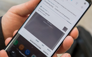 Cara mengambil screenshot di Samsung Galaxy J4 Core