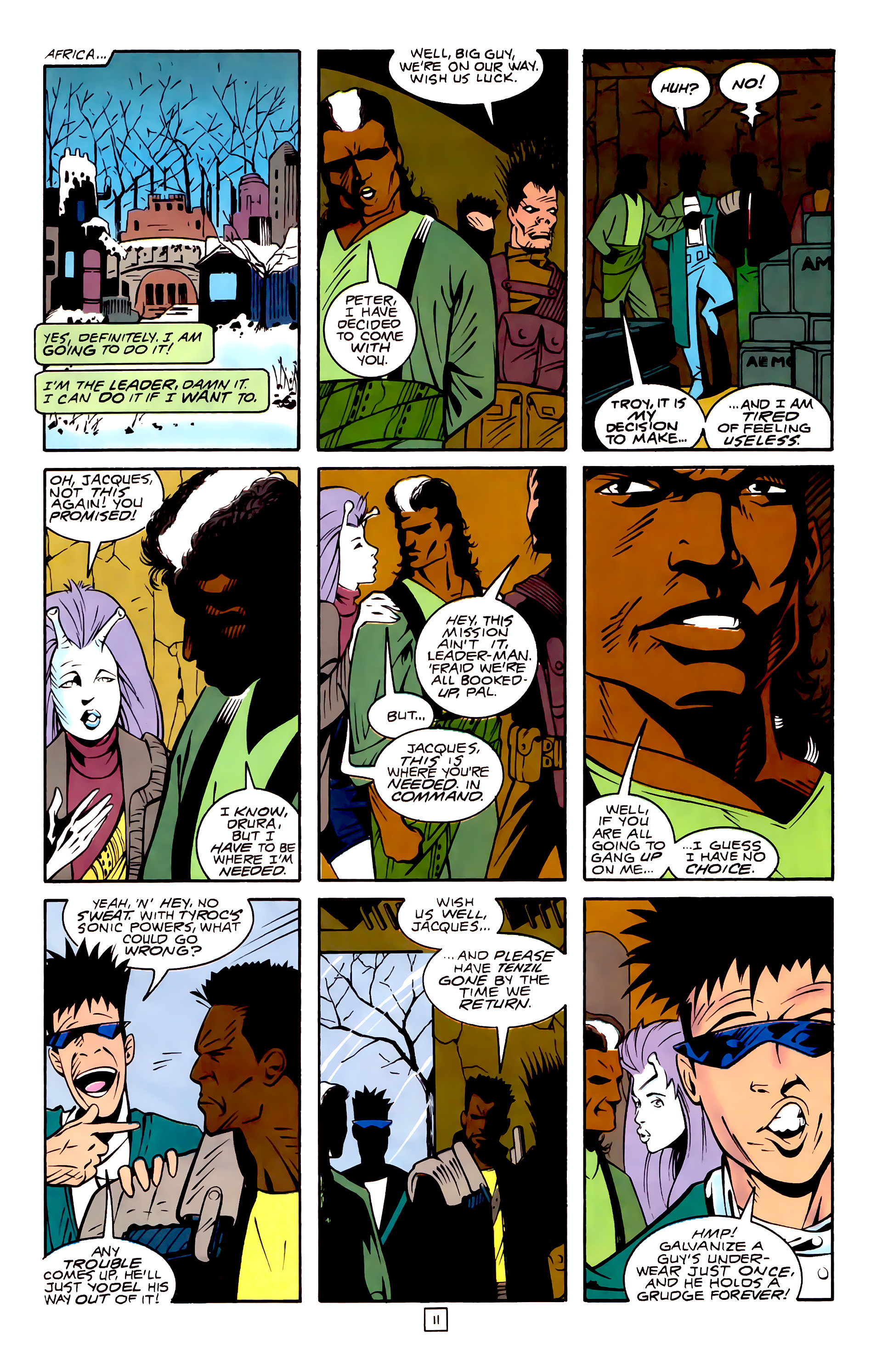 Legion of Super-Heroes (1989) 32 Page 11