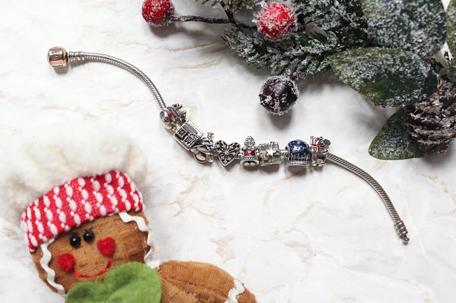 My Festive Themed Pandora Bracelet
