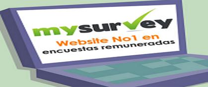 MySurvey, Ganar Dinero con Encuestas