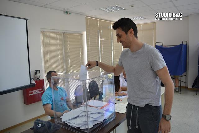 Σε εξέλιξη η  εκλογική διαδικασία στην Ένωση των Αστυνομικών Υπαλλήλων Αργολίδας
