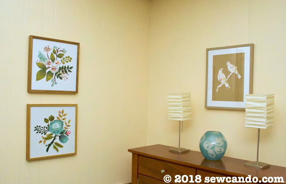 Sew Can Do: How To Make Custom Wall Art On A Budget