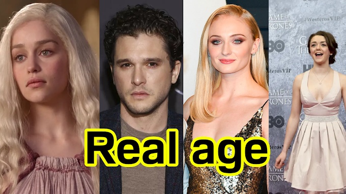 Game of thrones cast Real age