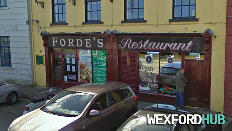 Forde's Restaurant, Wexford