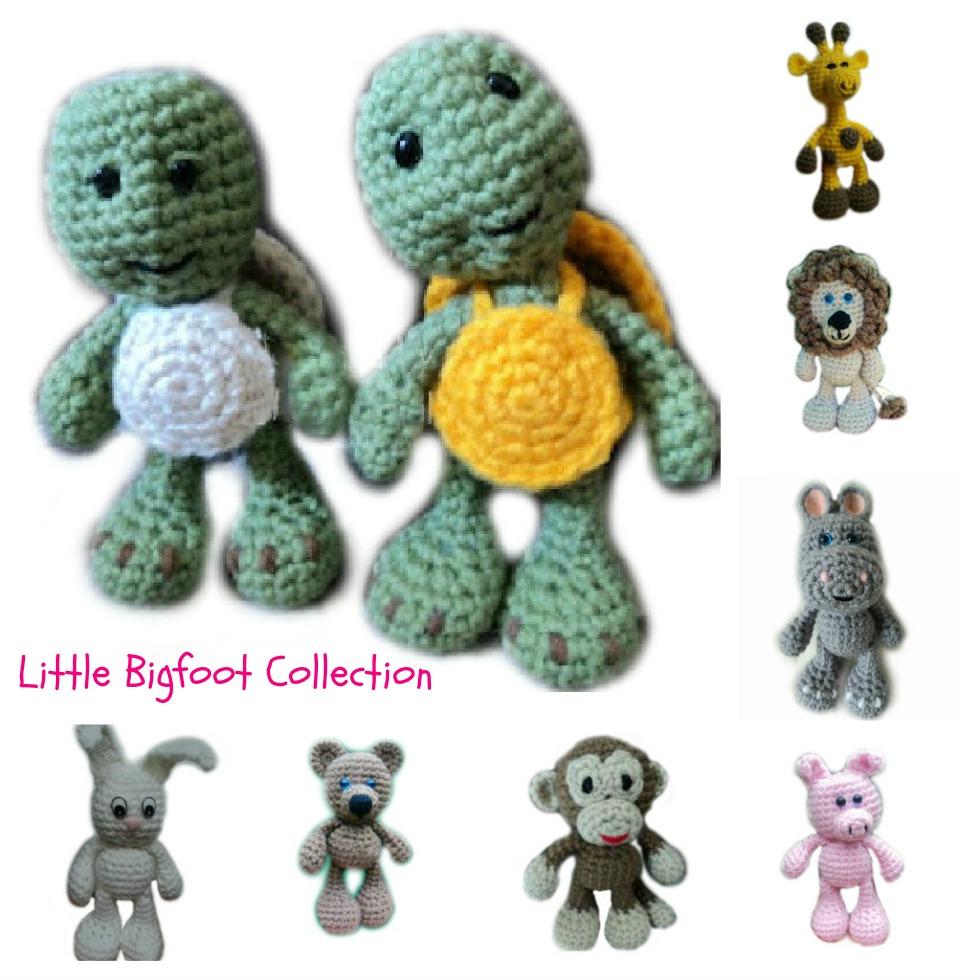 Amigurumi To Go!: Little Bigfoot Bunny Crochet Pattern -- PLEASE ... | 980x980