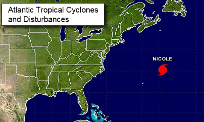 Hurricane Harbor: Nicole Leaves Bermuda, NW Storm Moves In ...