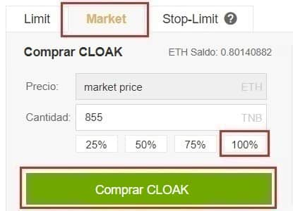 CloakCoin Guía Español