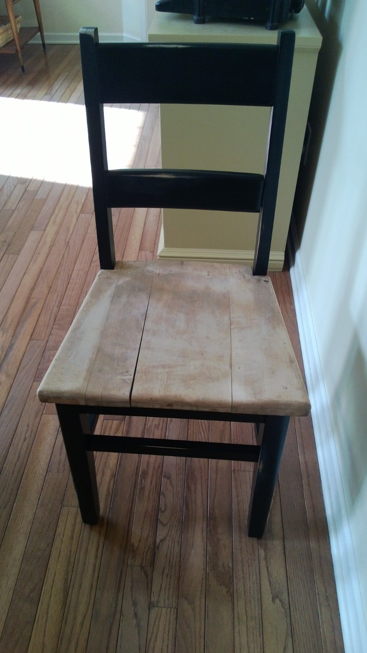 {re}defined: Distressed Antique Chair