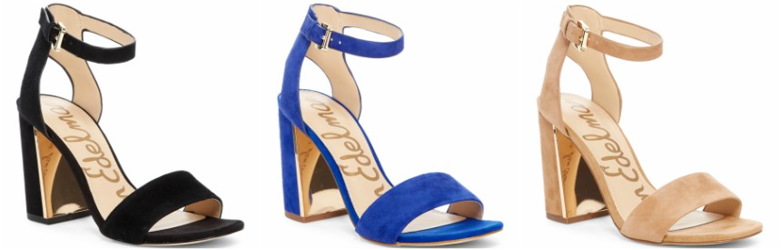 Sam Edelman Synthia Open Toe Sandals $45 (reg $120)