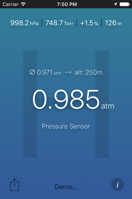 Air Pressure - New App for iPhone, iPad and Android