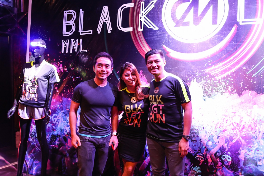 Color Manila's Blacklight Run