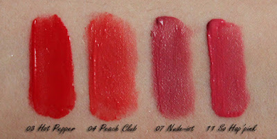BOURJOIS Rouge Edition Velvet Matte Finish 03 04 07 11