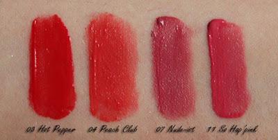 BOURJOIS Rouge Edition Velvet Matte Finish 03 04 07 11