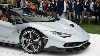 2017 Lamborghini Centenario Roadster front wheel