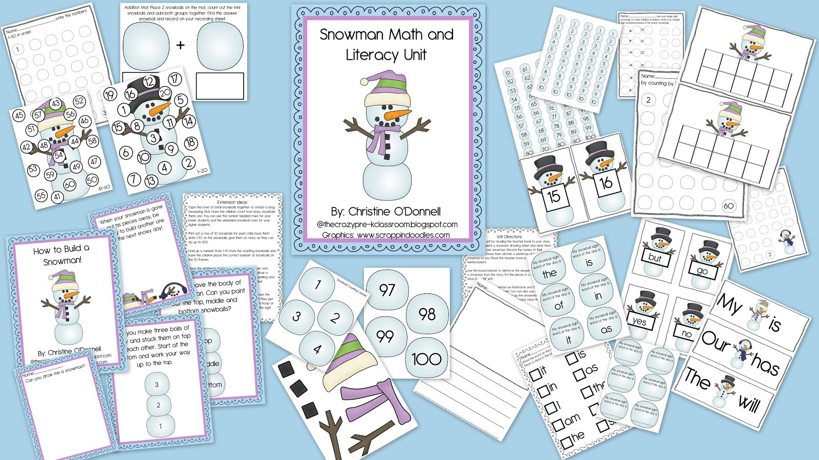 The Crazy Pre K Classroom Fun With Snow And Ice Snowman