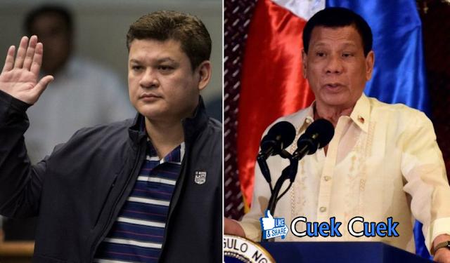 Duterte Perintahkan Bunuh Anak Sendiri