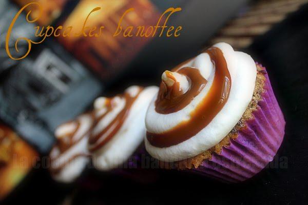 Cupcakes banoffee receta Peggy Porschen