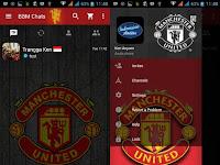 Download BBM MOD Manchester United Versi Terbaru v3.2.0.6 APK Transparan