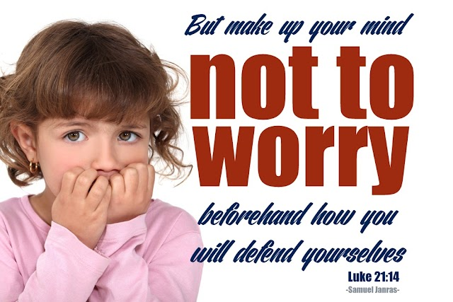Not to Worry Motivational Quote