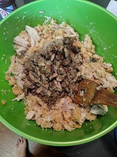pork rind dressing with chicken