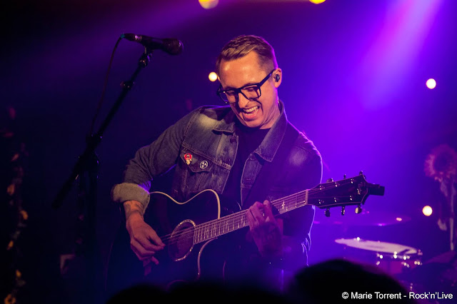 Ryan Key Yellowcard Virtue Old Friends Ocean Avenue Rock Pop Punk Paris Photo Concert Live Rock'n'Live Alternative Live Marie Torrent O'Sullivan's Backtage by the Mill