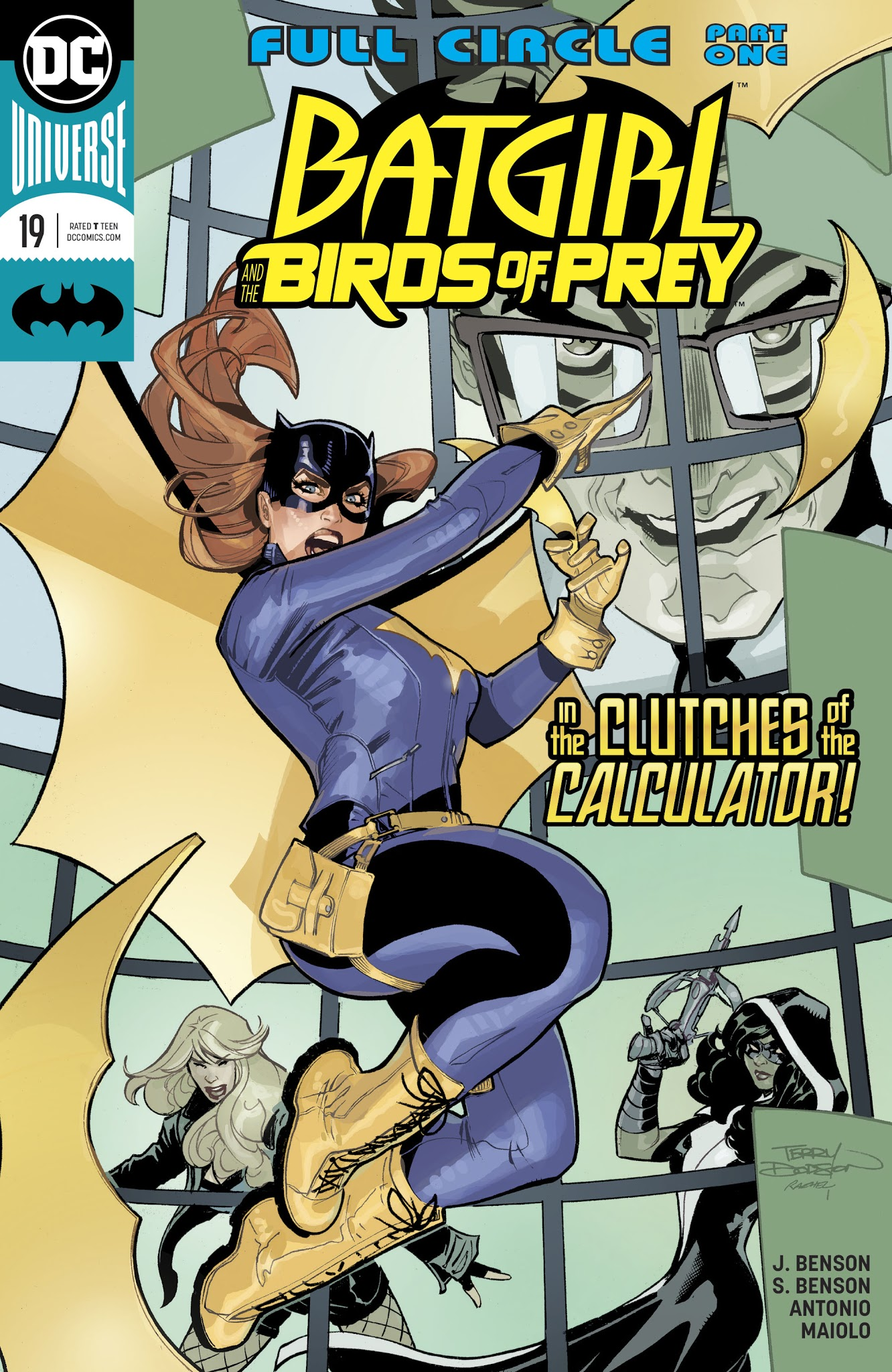 Batgirl and the Birds of Prey 19 Page 1