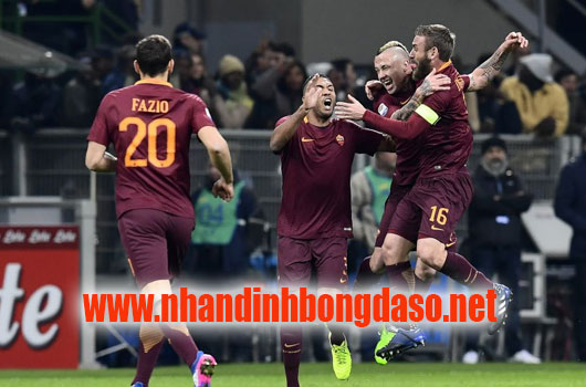 AS Roma vs Barcelona www.nhandinhbongdaso.net