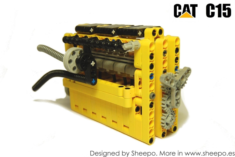 Sheepos Garage Peterbilt 379 Cat C15 Acert Actuator Wiring Harness
