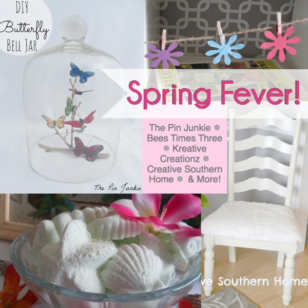 10 Spring Fever DiY Projects featured at I Gotta Create!