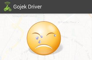 gojek mogok, driver gojek mogok, gojek demo 2016, demo gojek 2016, driver gojek demo 2016