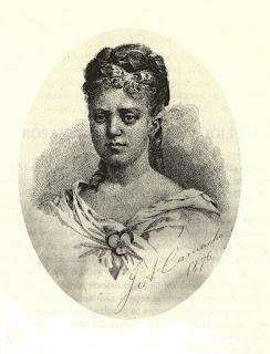 Grabado de J. A. Camacho (1876) publicado en  Ecos del Alma.