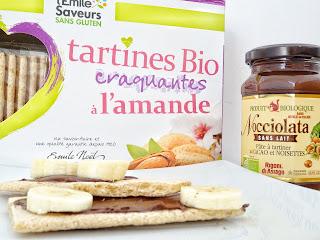 Tartines bio craquantes à l'amande - L'Emile Saveurs sans gluten