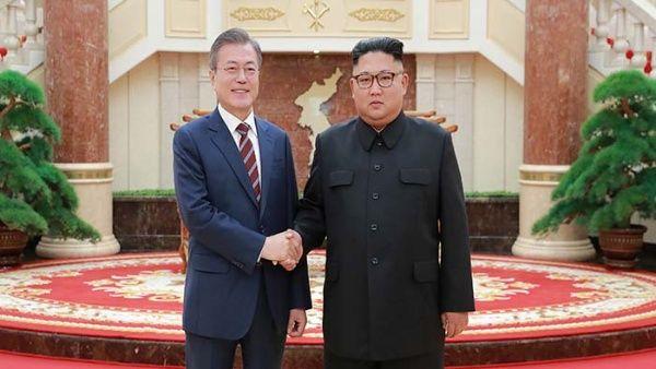 Las dos Coreas acuerdan erradicar amenaza de guerra en la península
