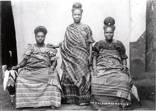 Gold Coast (Ghana) fante women