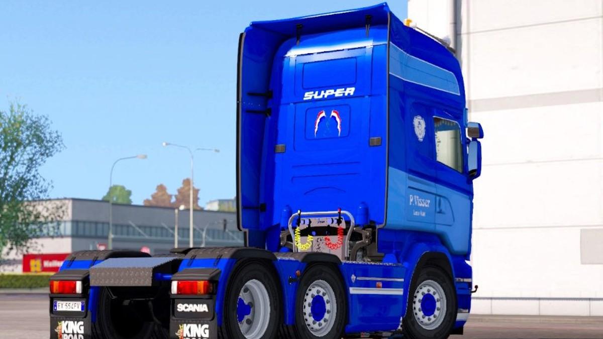 Scania RJL P. Visser Skin