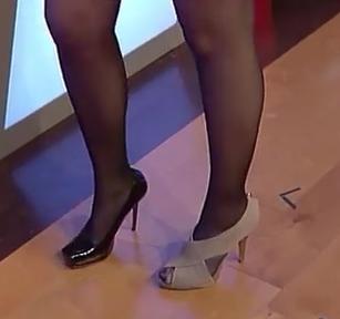 Michelle Beadle Heels Celebrity Legs ...