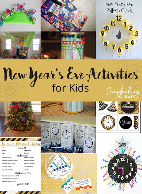 New Year's Eve Activity Ideas for Kids