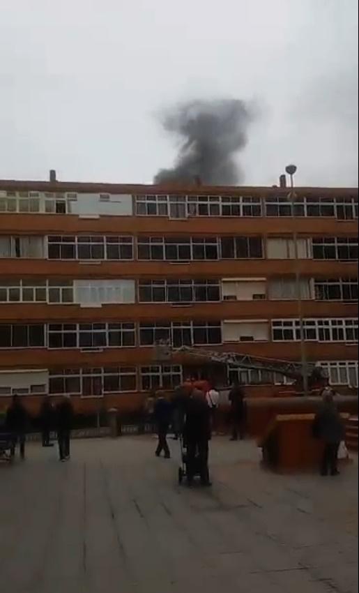 vídeo Incendio vivienda Las Palmas de Gran Canaria