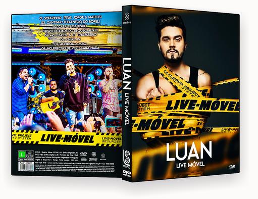 CAPA DVD – Luan Santana Live Móvel – ISO