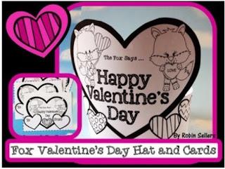 printable valentines day craft