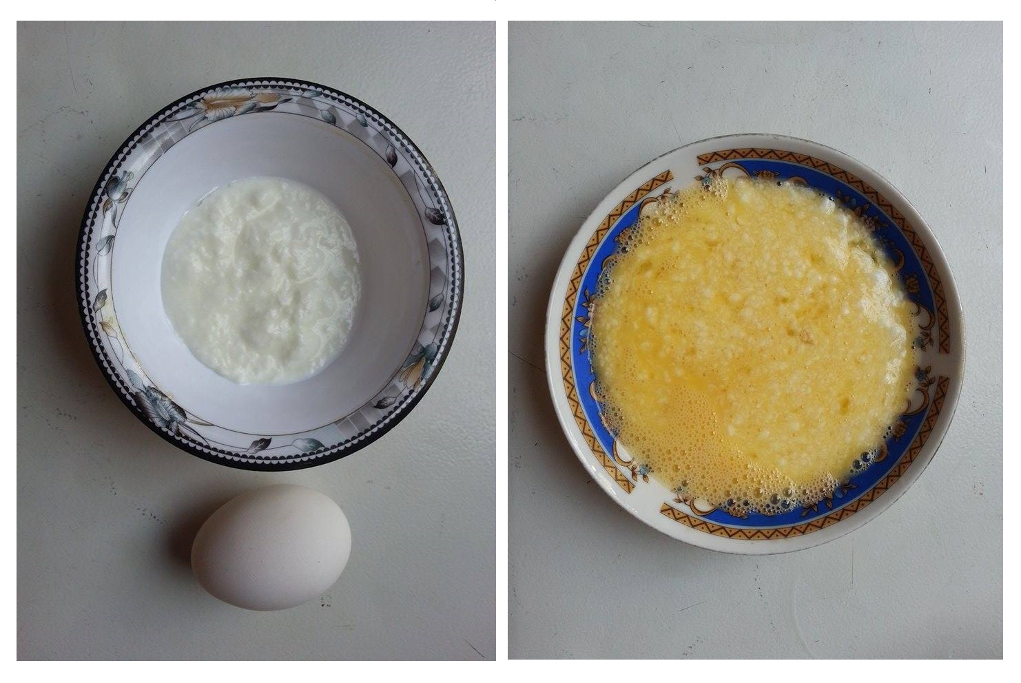 Egg and Yogurt Mask Protein Treatment for Hair